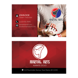 Concept 1- Business Cards- MMA