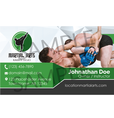 Concept 4- Business Cards- MMA
