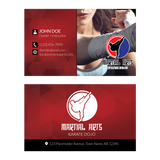 Concept 1- Business Cards- Self Defense
