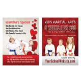 "Kids MA -  Valentines Day 3""x4"" Ad Cards"