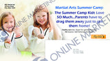 "Summer Camp<br />6""x11"" Postcards (1)"