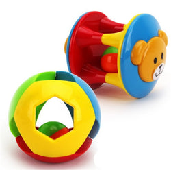 Baby Learning 2 Pcs Hand Bell Ring Rattle Set