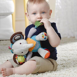 Animal Bandanna Comfort Teether Toys