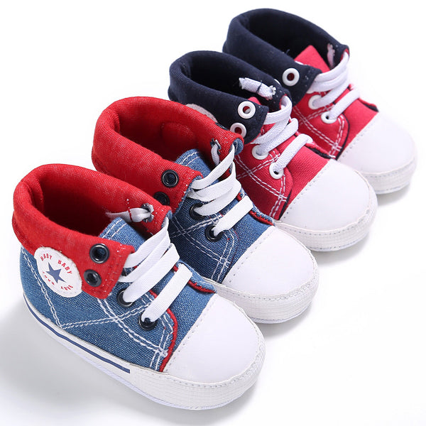 Custom Made Baby Sneakers