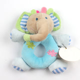 Baby Cotton Animal Hand Bell Ring Rattle