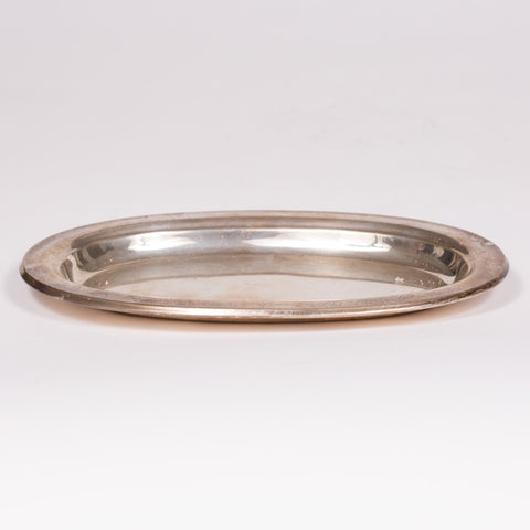 Smooth Sterling Silver Tray