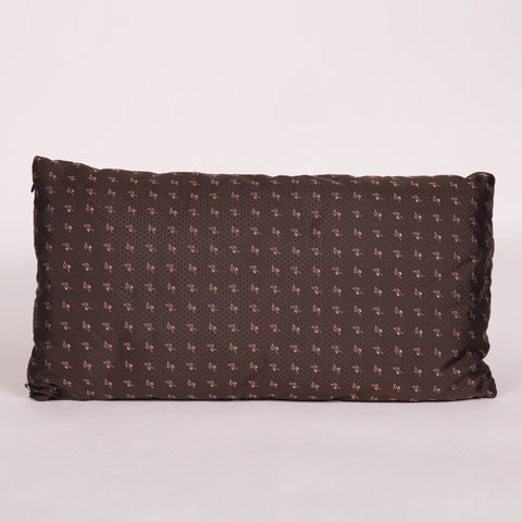 Brown and Pink Custom Pillow