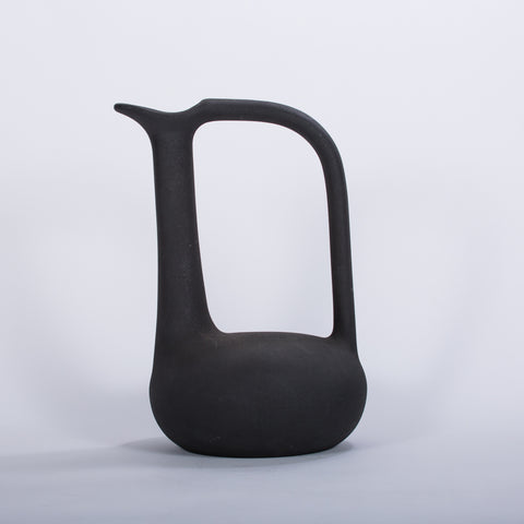Black Pitcher Vase