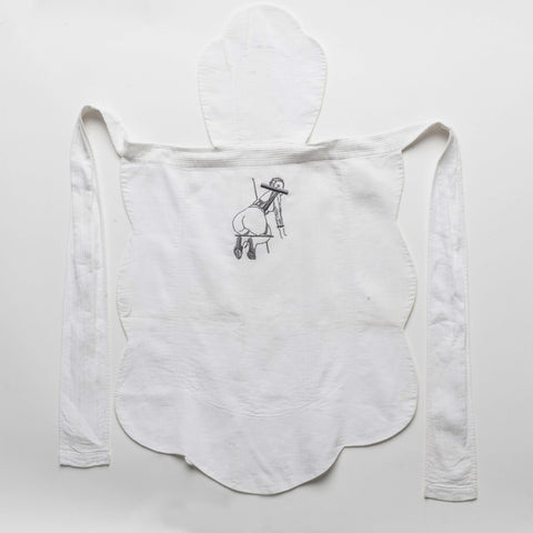Natalie Krim Embroidered Apron