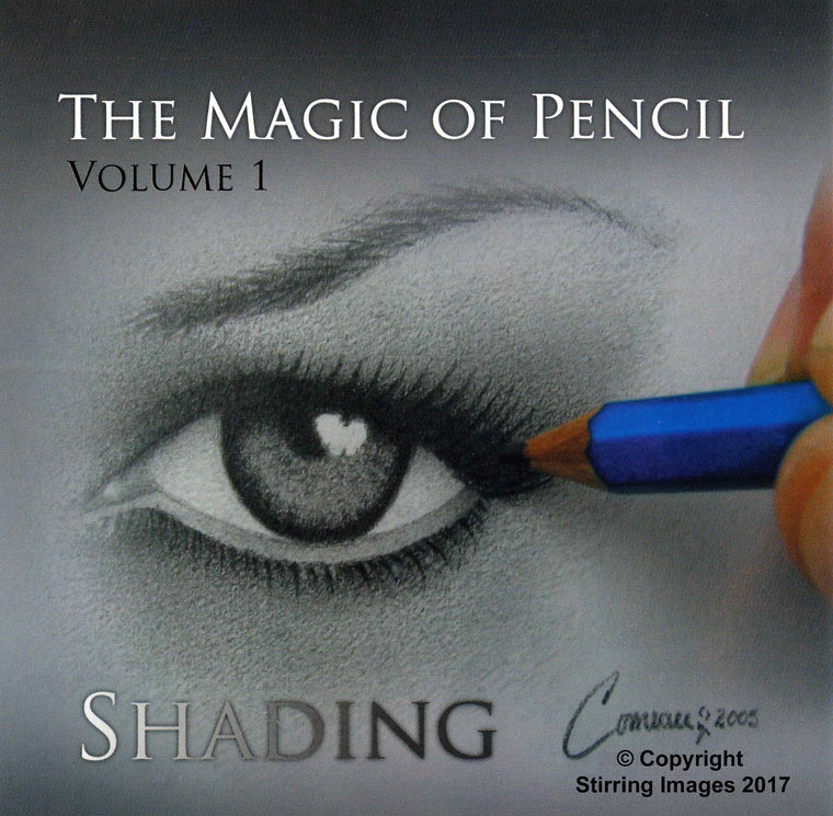 THE MAGIC OF PENCIL: VOLUME 1 SHADING - CD Hard Copy