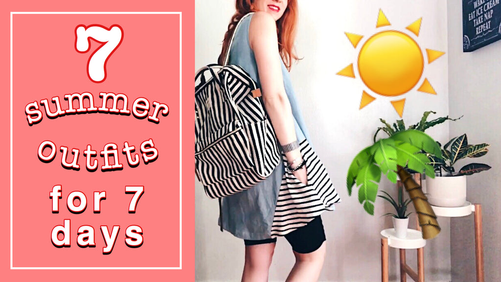 7 Summer Outfits for 7 Days!