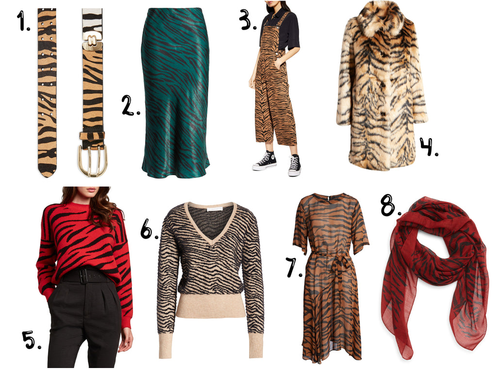 What I'm Loving : Tiger Print