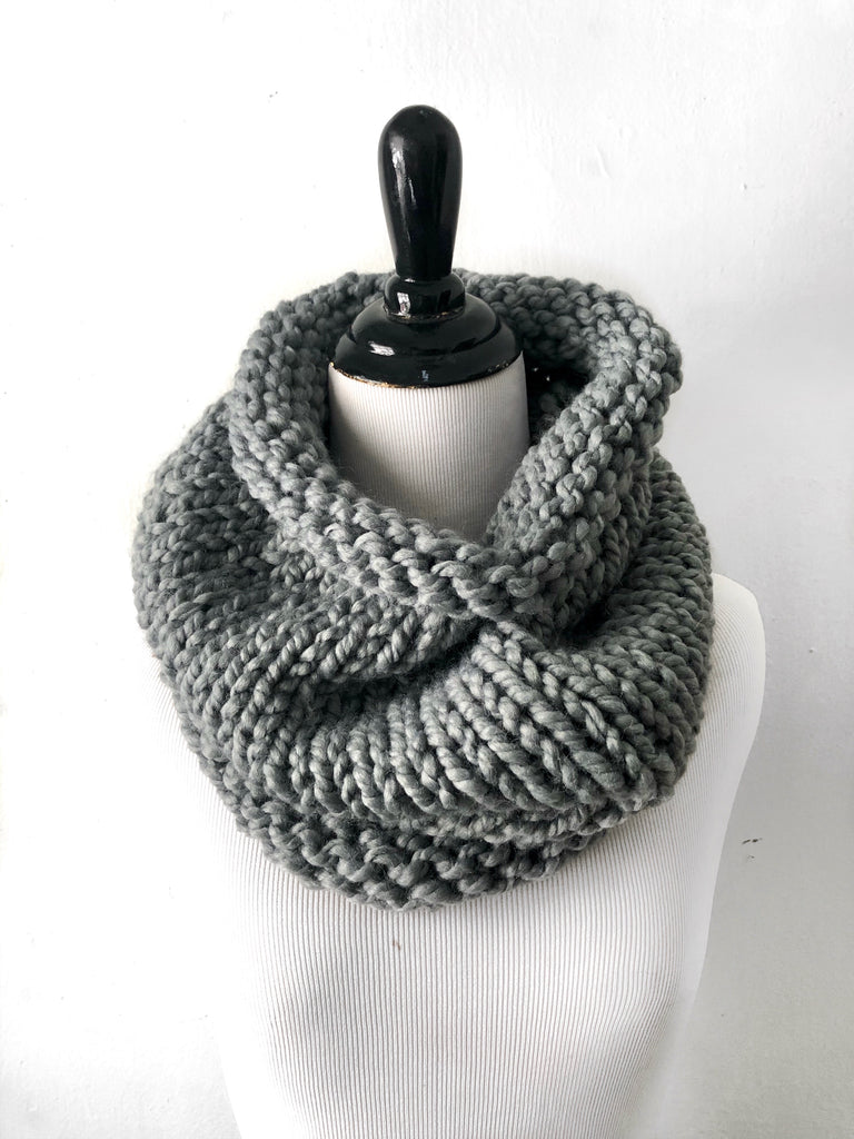 Neckwarmer in Slate