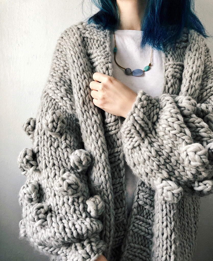 MADE TO ORDER : Amazebobble Cardigan Sweater