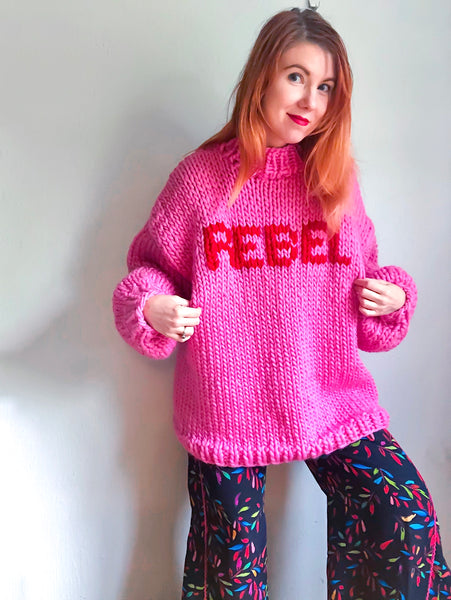 MADE TO ORDER : The Rebel Sweater