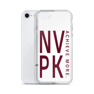Maroon NVPK iPhone Case