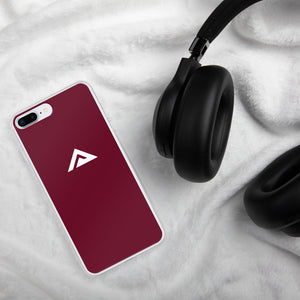 Maroon iPhone Case