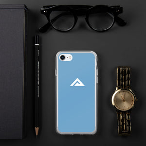Light Blue iPhone Case