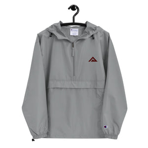 Grey Packable Jacket