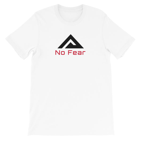 """No Fear"" Short-Sleeve Unisex T-Shirt"