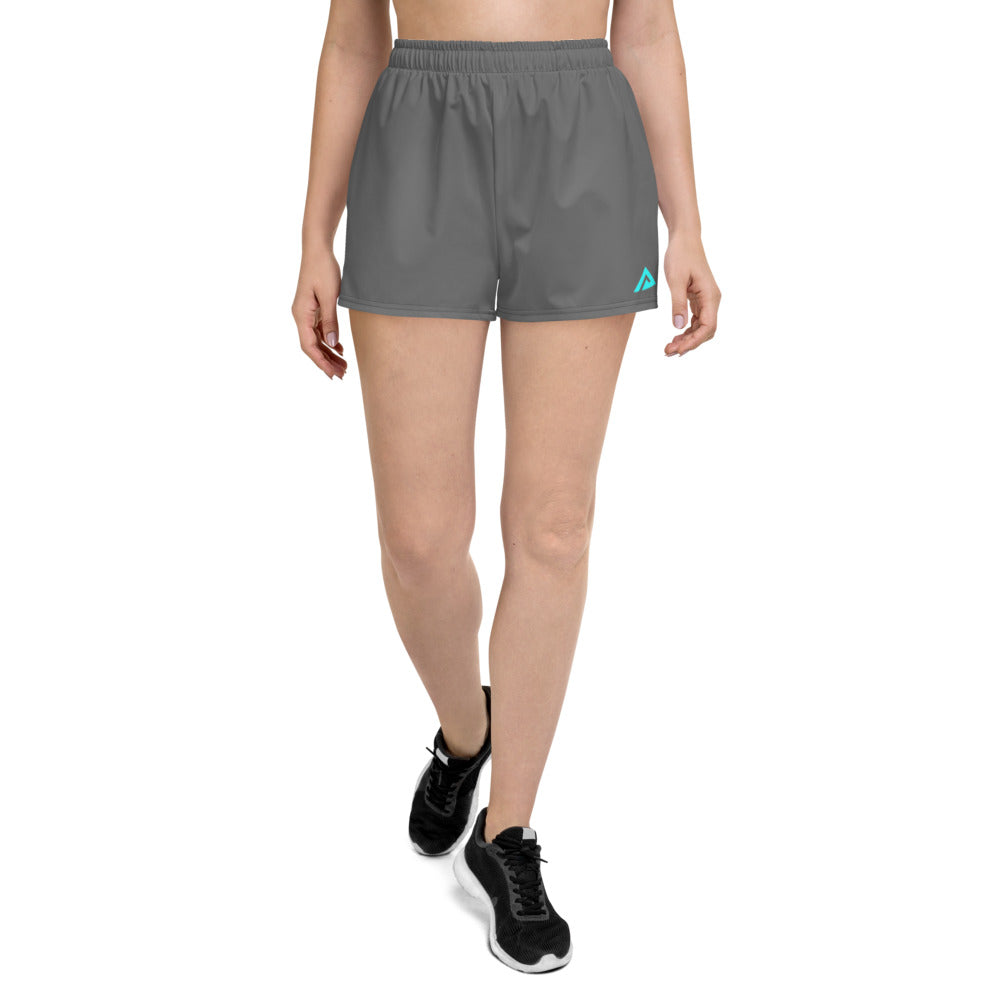 Women's Grey Athletic Shorts