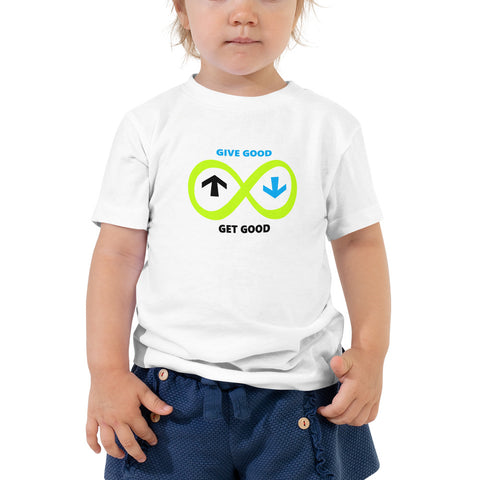 Toddler Green Infinity Short Sleeve Tee