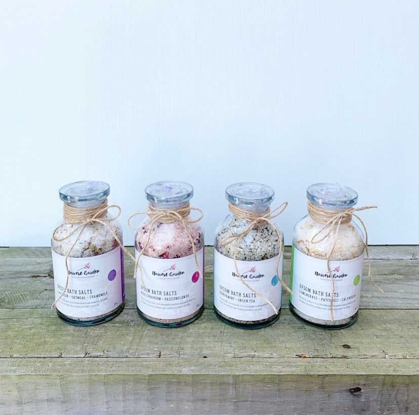 HARVEST GARDEN BATH SALTS
