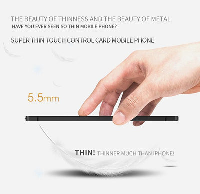 B10 Anti-Theft Ultrathin Mini Phone - Toynana.com