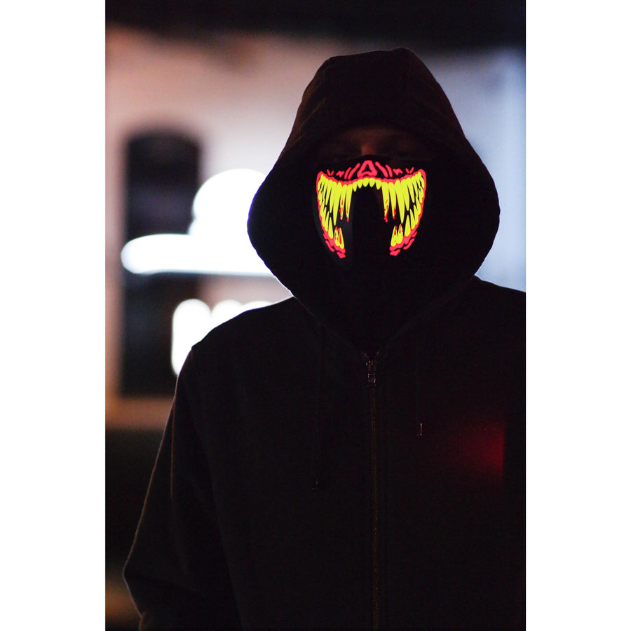 Sick Face Shield Mask LED Mask