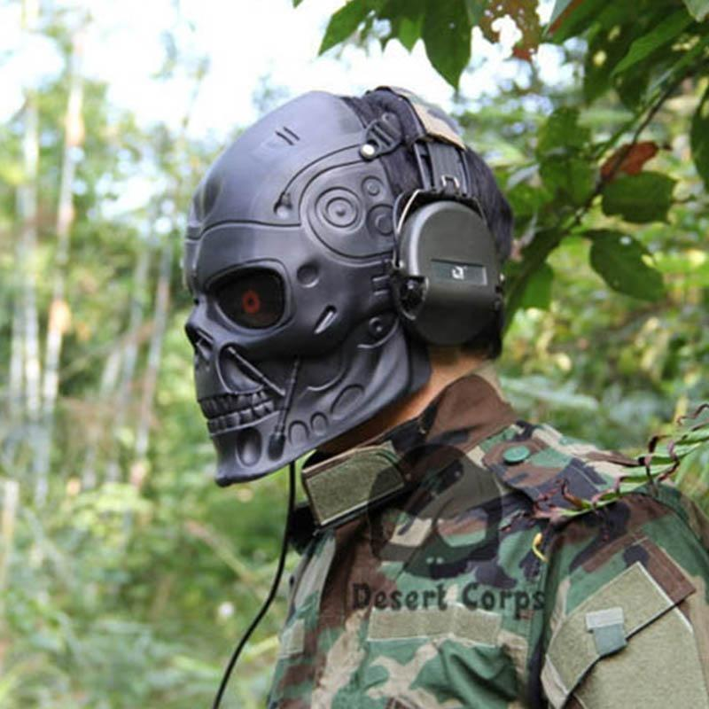 Hasta La Vista Baby Paintball Airsoft Tactical Mask