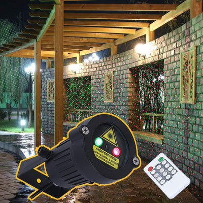 Find Santa Outdoor Laser Spotlight - Toynana.com