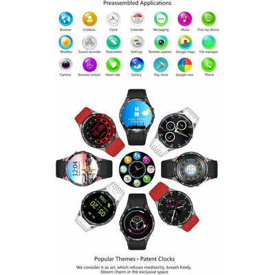 ***Special Promotion *** K88 Premium Android iOS Smartwatch Phone - Toynana.com