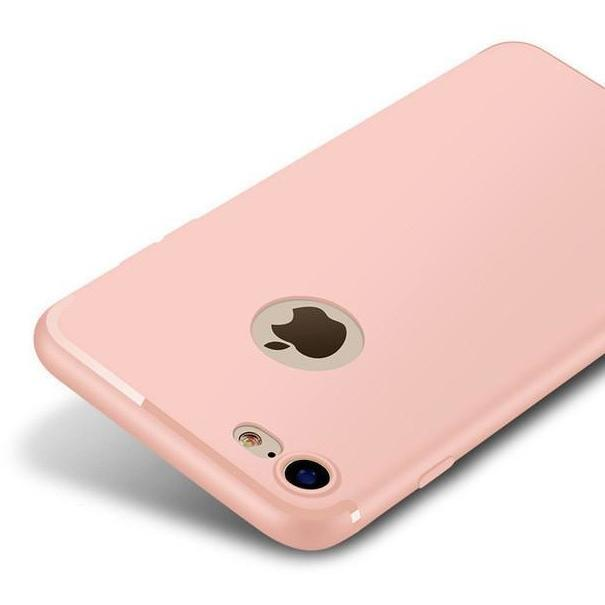 Luxury Matte Soft Silicon Case for iPhone