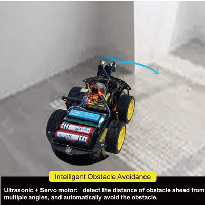 ***Create Your First Robot Promo*** Multifunctional DIY Smart Car - Toynana.com