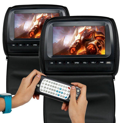 Headrest LCD Video Player - Toynana.com