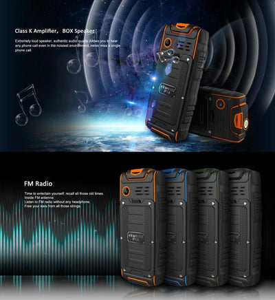 S8 Rock Rugged Mobile Phone - Toynana.com