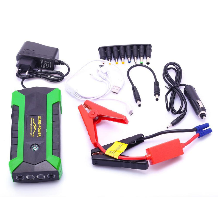 Waterproof Car Jump Starter & Gadgets Powerbank