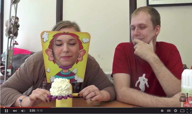 The Pie Face Challenge