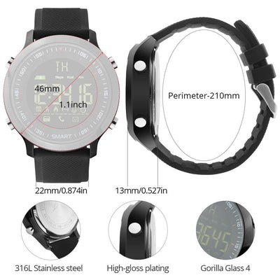 i-Flex Outdoor Buddy Smartwatch - Toynana.com