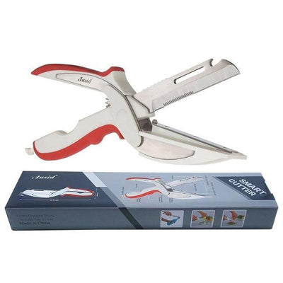 2 in 1 Stainless Steel Clever Cutter Scissor - Toynana.com