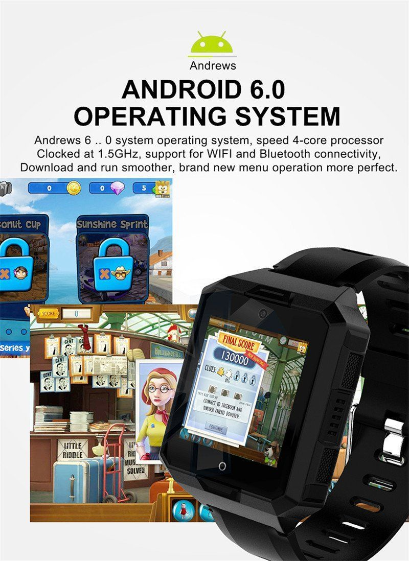 no and sport smartwatch smartphone bluetooth connect rug android waterproof rugged ios views more