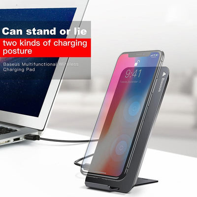 Wireless Charging Dock Station for Iphone And Samsung - Toynana.com