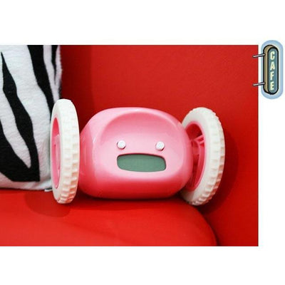 Get Out Of Bed Alarm Clock With Wheels - Toynana.com