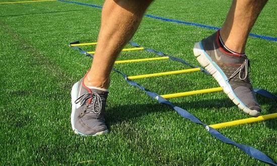 Using ShoeCue for sports or agility training
