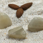Moonstone: White  Tumbled Small