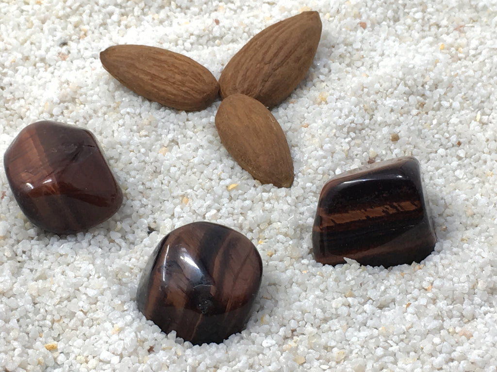 Tiger Eye: Red Tumbled