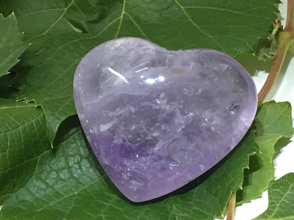 Amethyst - Pocket Heart (Medium)
