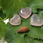 "Rose Quartz: Heart  (1"")"