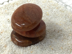 Agate Fire - Pocket Stone