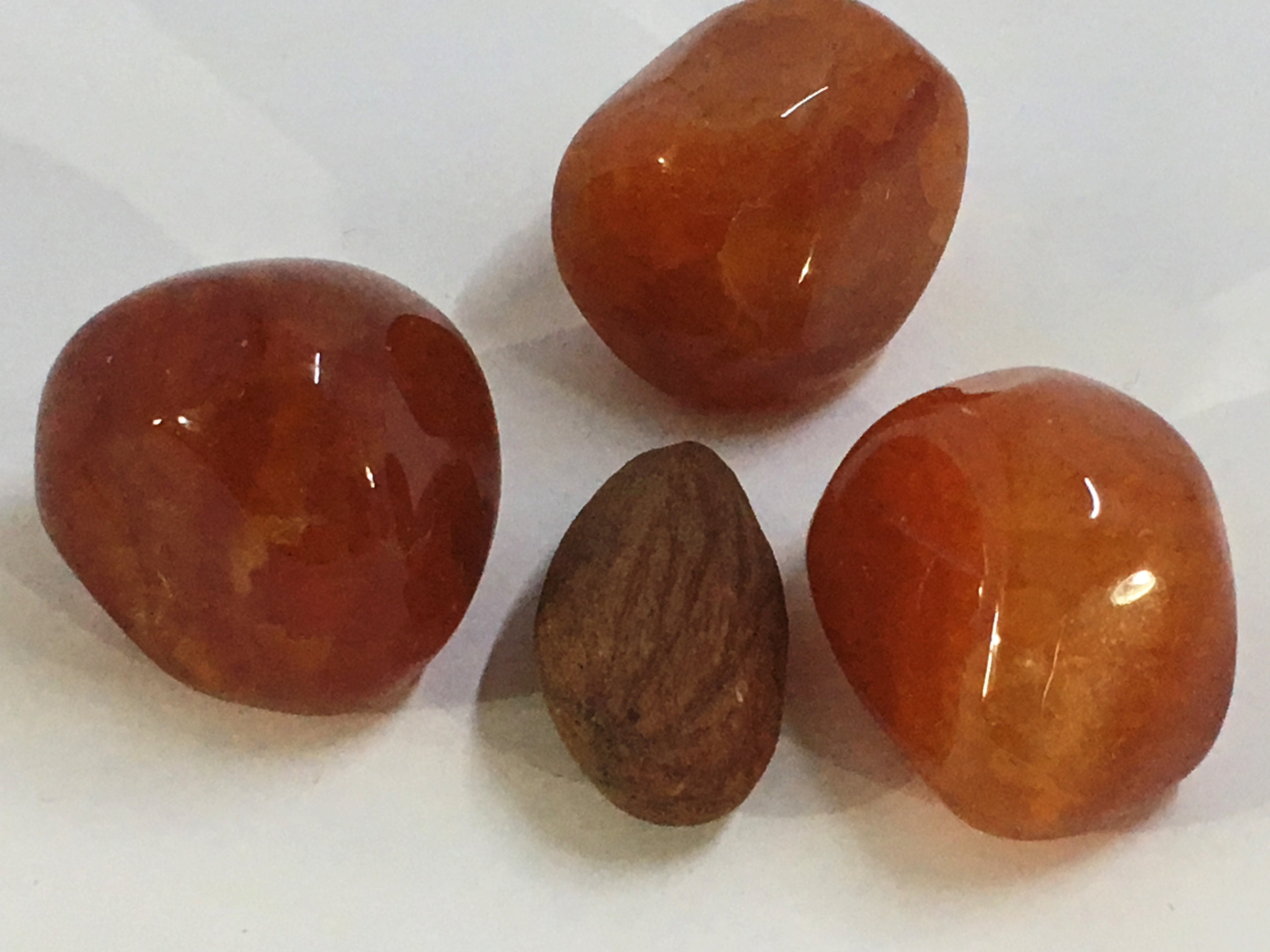Agate Fire - Tumbled Stone (Small)